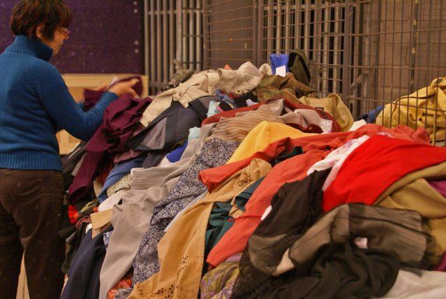 bourse tri des vêtements